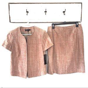 NWT Jones New York Collection Skirt Suit Jacket